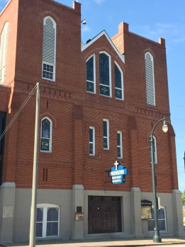 Exterior of Ebenezer Baptist Church